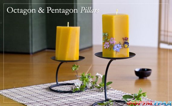 Новогодние свечи для праздничного интерьера - Фото 7