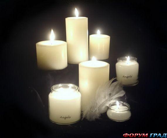 Новогодние свечи для праздничного интерьера - Фото 14