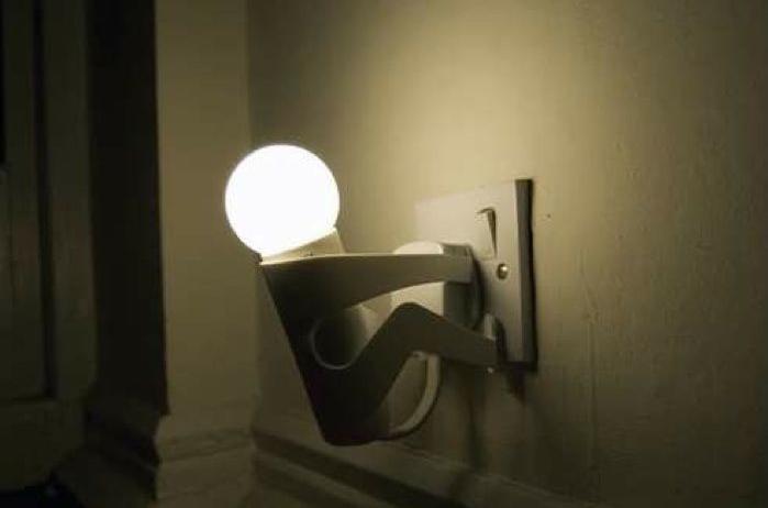 Красивый светильник для освещения