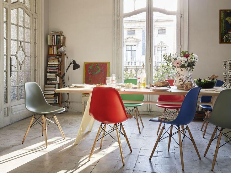 Обеденные стулья в интерьере вашего дома - Eames. Фото 2