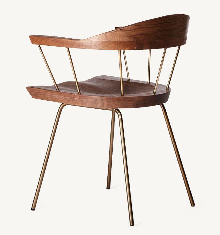 Обеденные стулья в интерьере вашего дома - Spindle