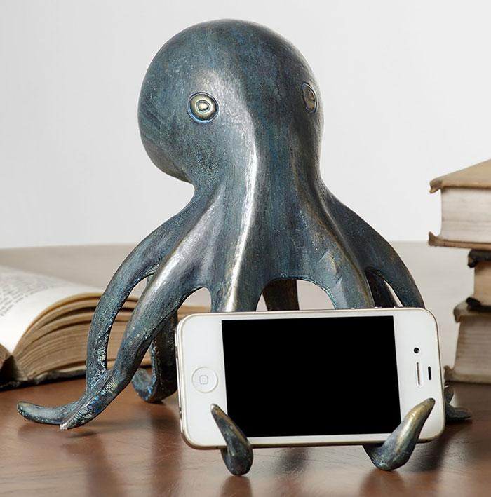 Подставка для телефона осьминог