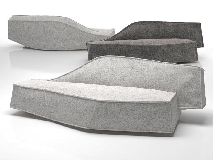 Чудесный и многофункциональный предмет меблировки Airberg от дизайнера Jean-Marie Massaud