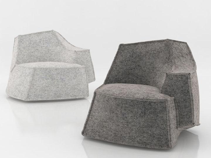 Креативный и многофункциональный предмет меблировки Airberg от дизайнера Jean-Marie Massaud