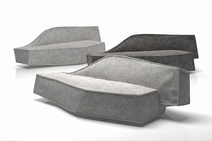 Необычный и многофункциональный предмет меблировки Airberg от дизайнера Jean-Marie Massaud
