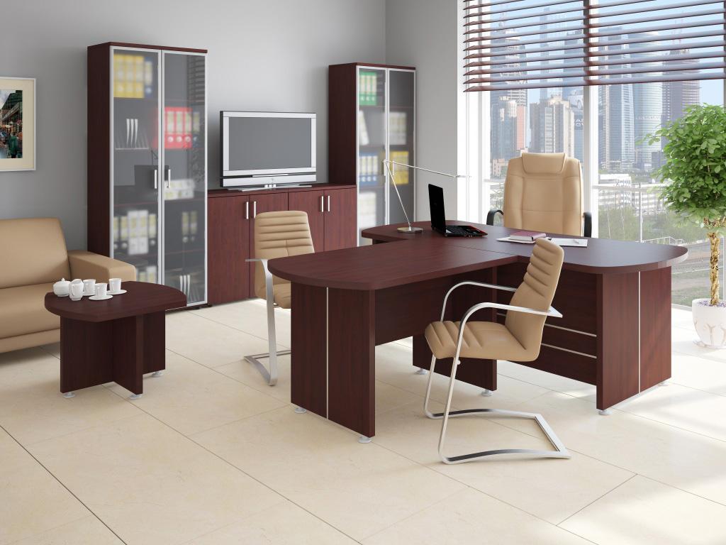 Современная офисная мебель в интерьере