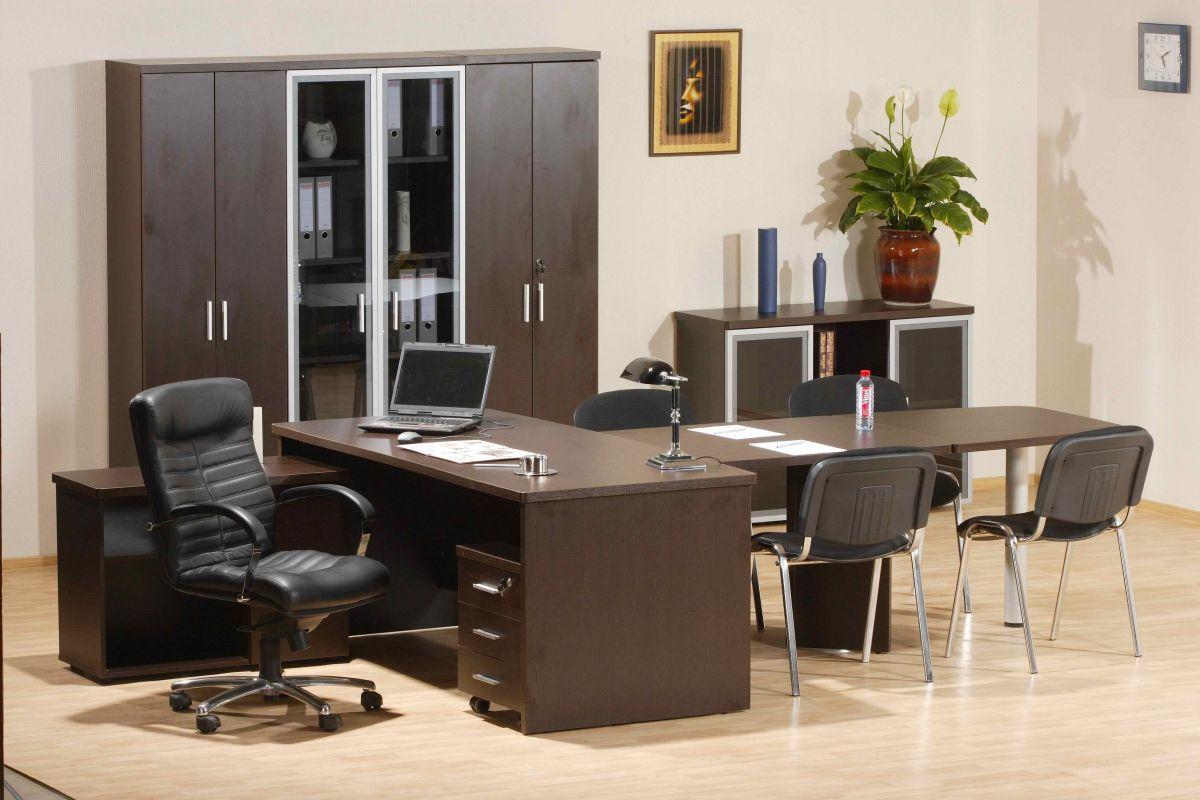 Удивительная офисная мебель в интерьере