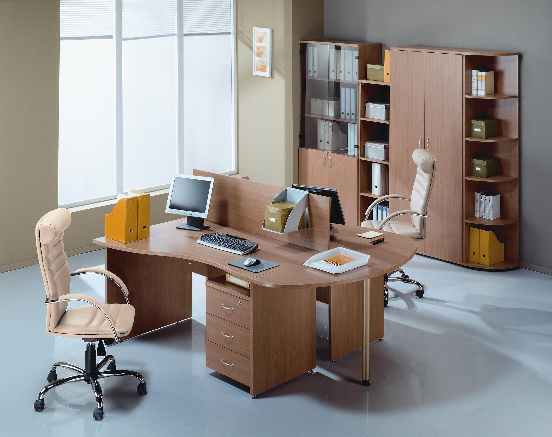 Сногшибательная офисная мебель в интерьере