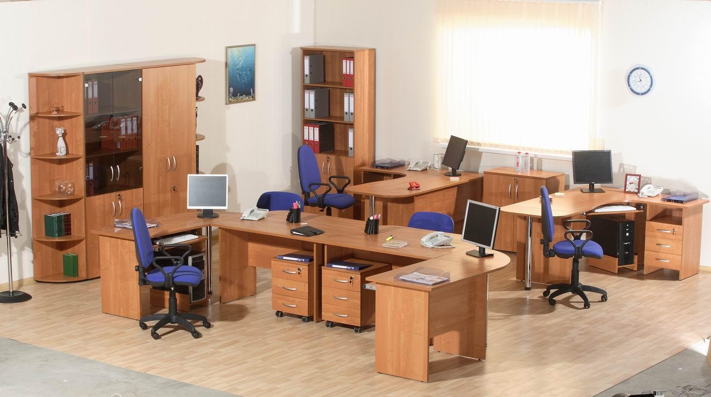 Умопомрачительная офисная мебель в интерьере