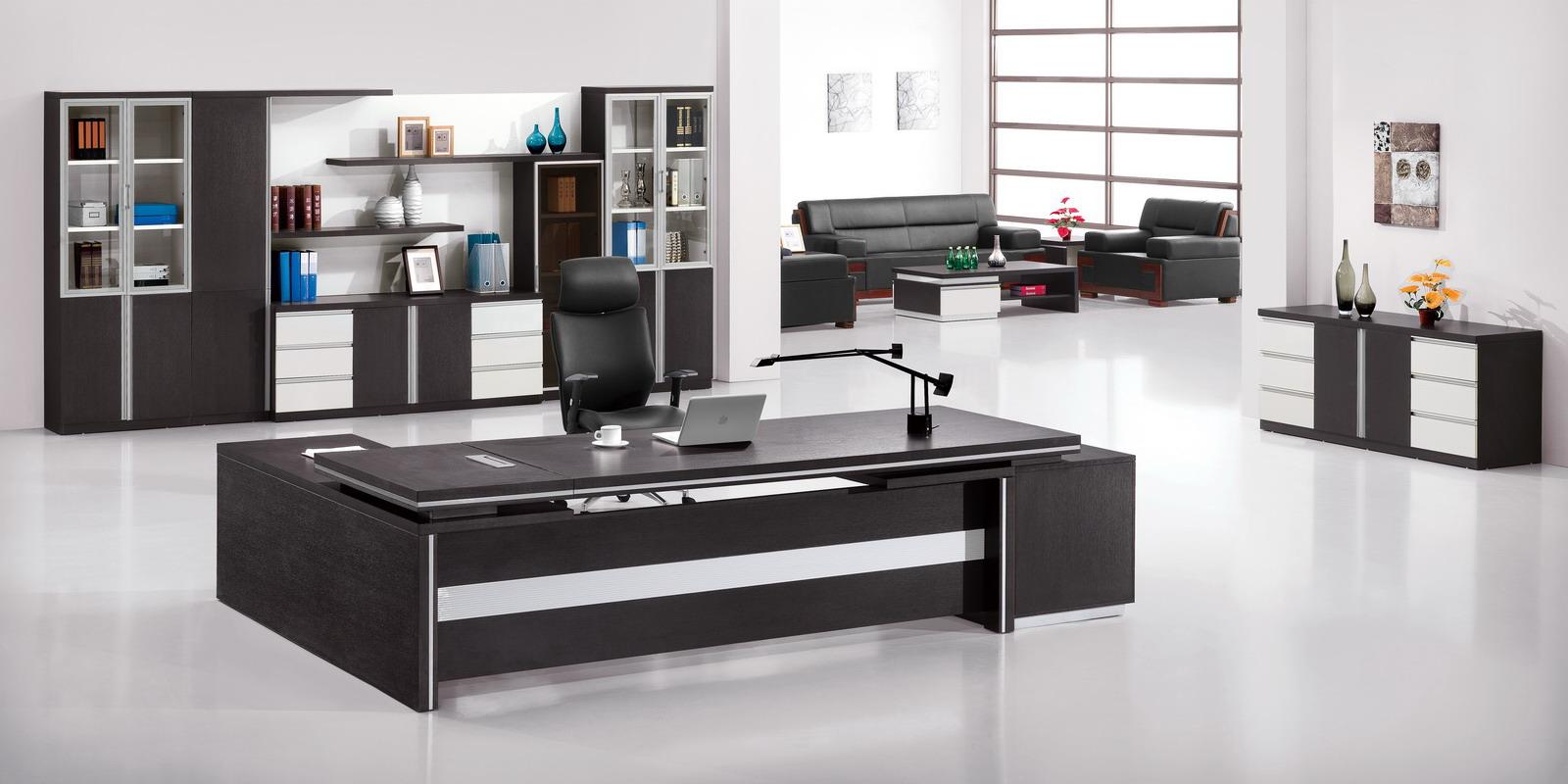 Чудесная офисная мебель в интерьере