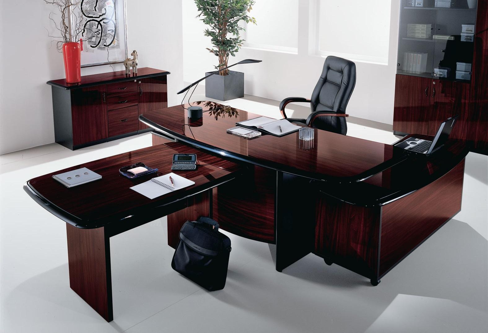 Бесподобная офисная мебель в интерьере