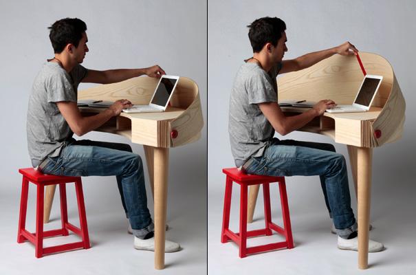Креативный стол Duplex Workspace от Sophie Kirkpatrick