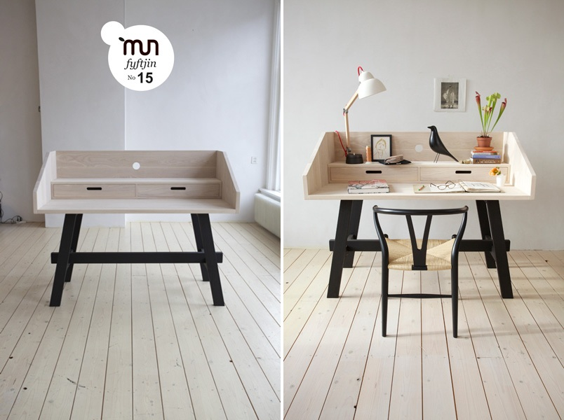 Интересный стол Duplex Workspace от Sophie Kirkpatrick