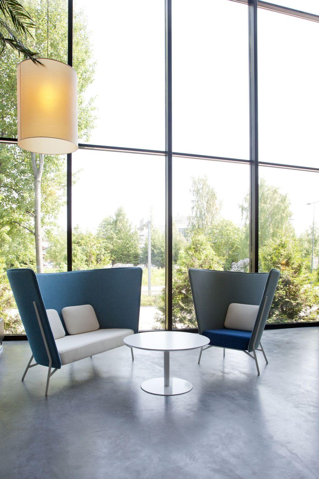 Мебель для офиса Aura chair L и Aura sofa от Inno
