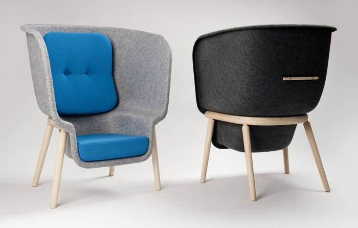 Креативный стул Pod от Benjamin Hubert