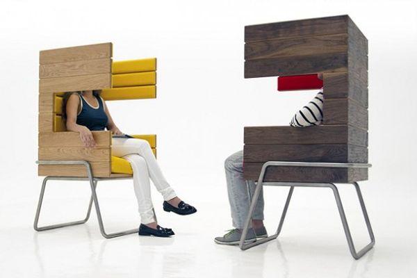 Необычные стулья Gi Booth от Jacob Gomez