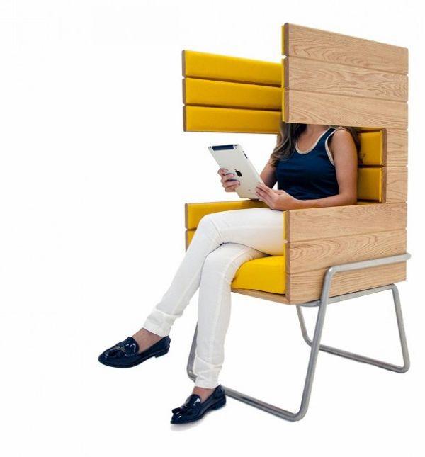 Необычный стул Gi Booth от Jacob Gomez
