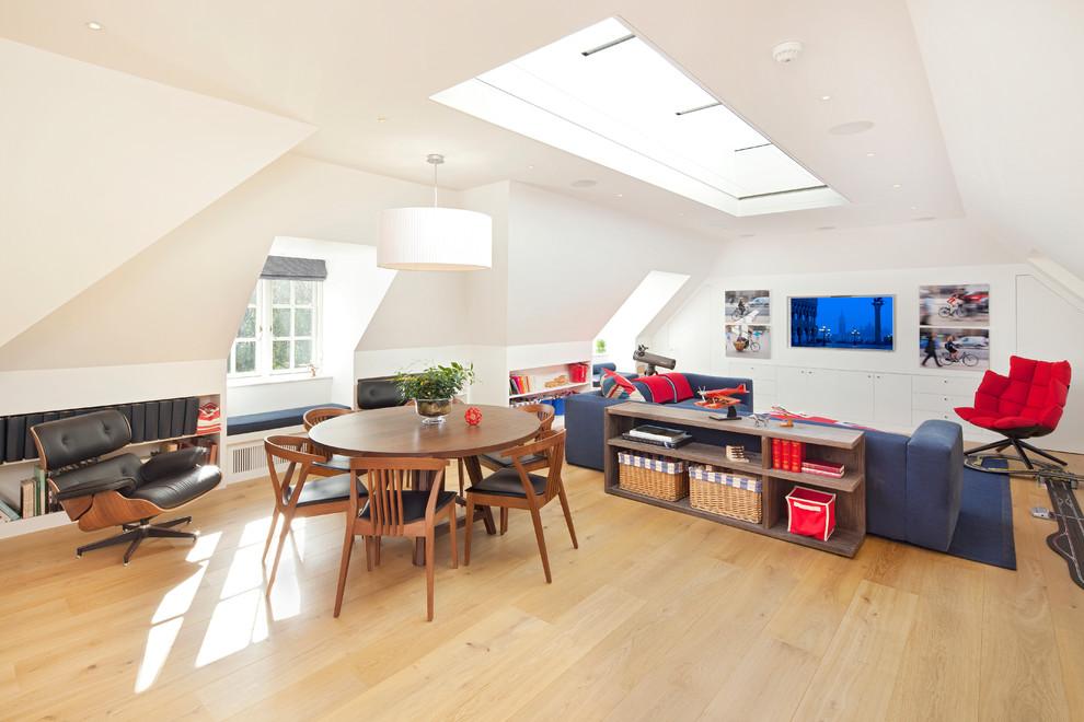 Оформление гостиной зоны от Hill Mitchell Berry Architects