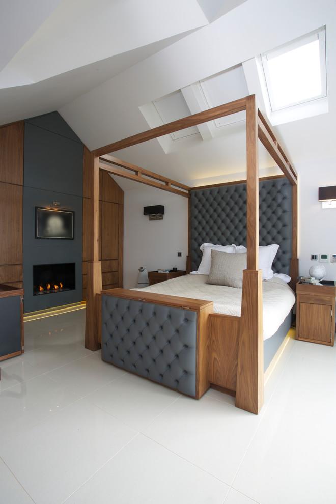 Оформление спальни от Gregory Davies Photography
