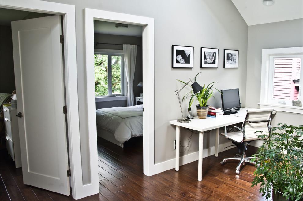 Рабочий стол в интерьере от mango design co