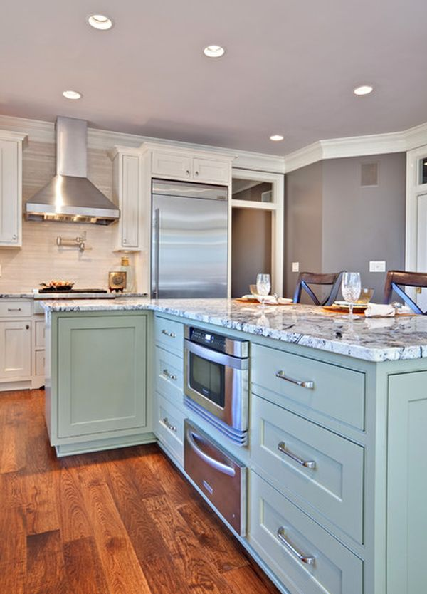 Красивое оформление кухонной зоны