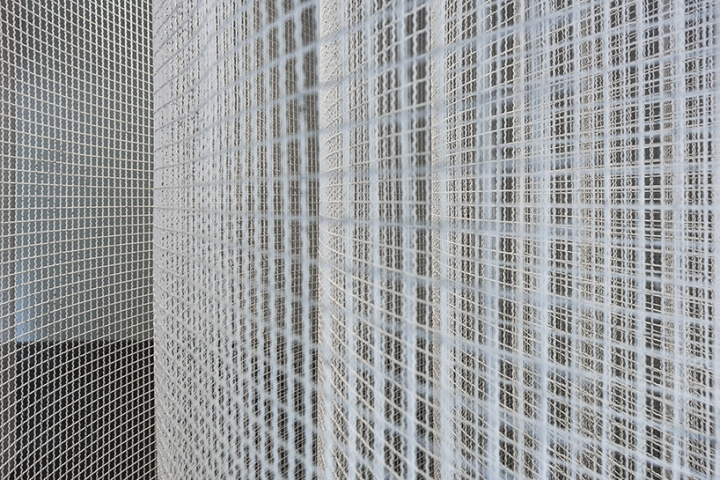 Оформление современной выставки: структура колонн