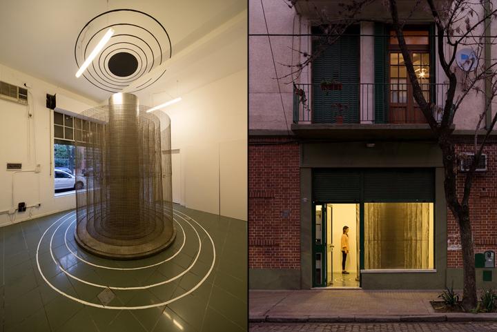 Оформление современной выставки: фасад Monoambiente