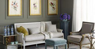 Неординарные решения для оформления стен в комнате от популярного дизайнера Kristen Chuber