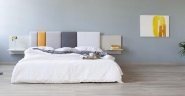 Formabilio знают как сделать оформления стены над вашей кроватью ещё более и стильным вместе с Comoditi
