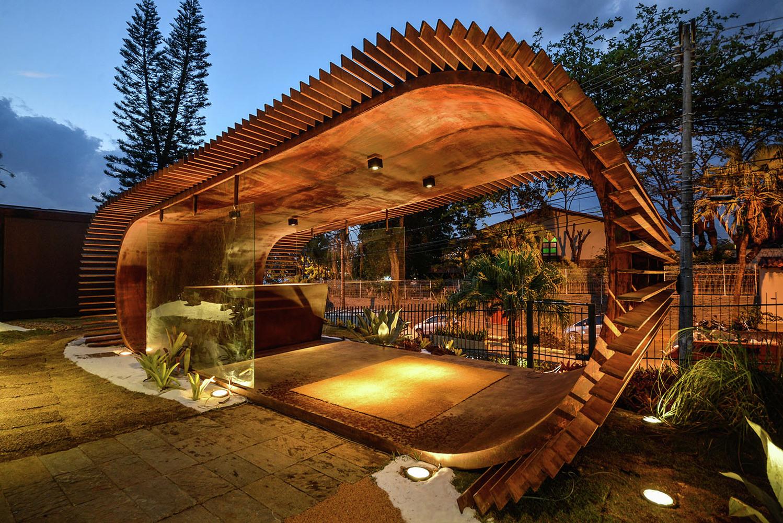 Оформление выставки в Бразилии