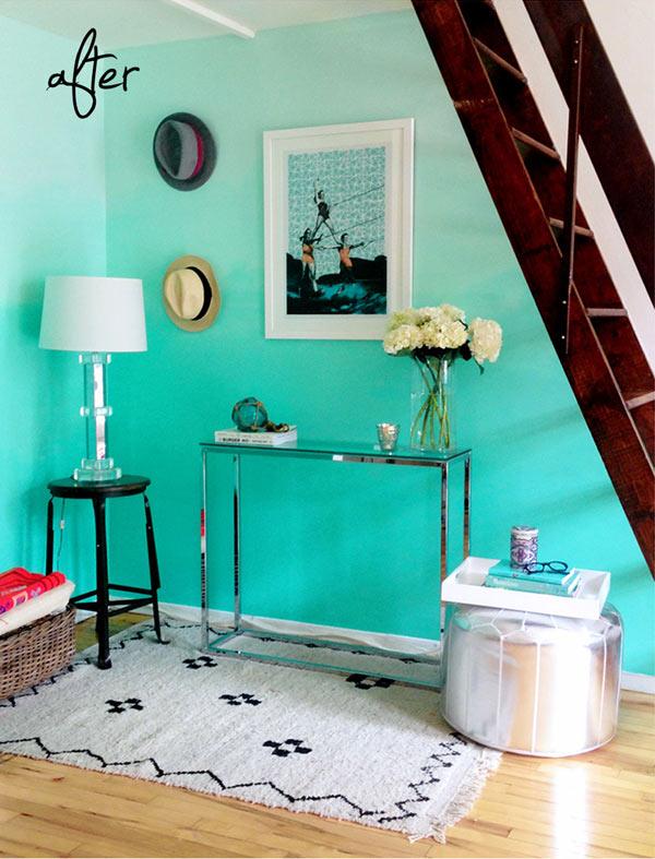 Покраска стен цвета фото