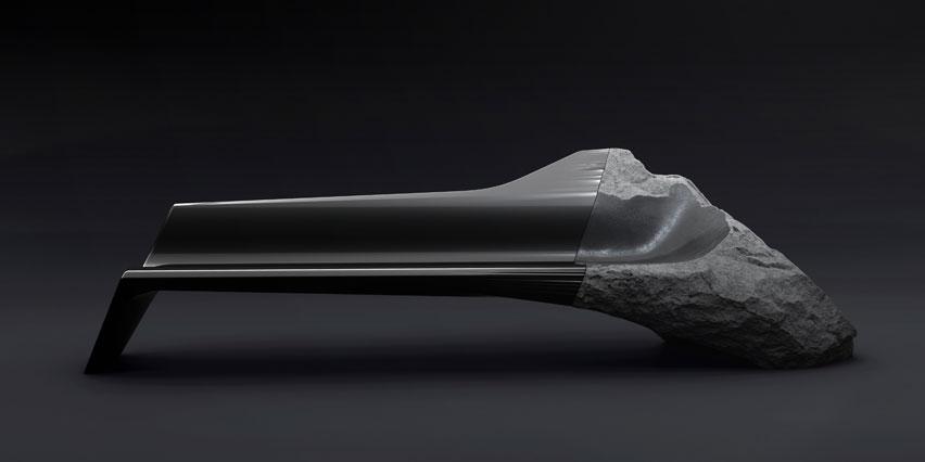 Оригинальный диван-скамья ONYX от Peugeot Design Lab