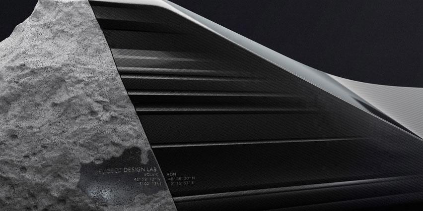 Креативный диван-скамья ONYX от Peugeot Design Lab