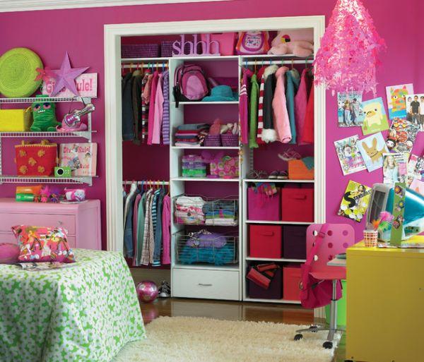 Коробки для хранения в шкафу