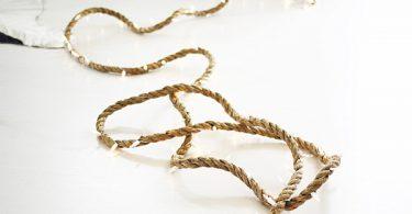Шикарное рождественское украшение - ослепительный свет оригинальной гирлянды Strand Rope Light