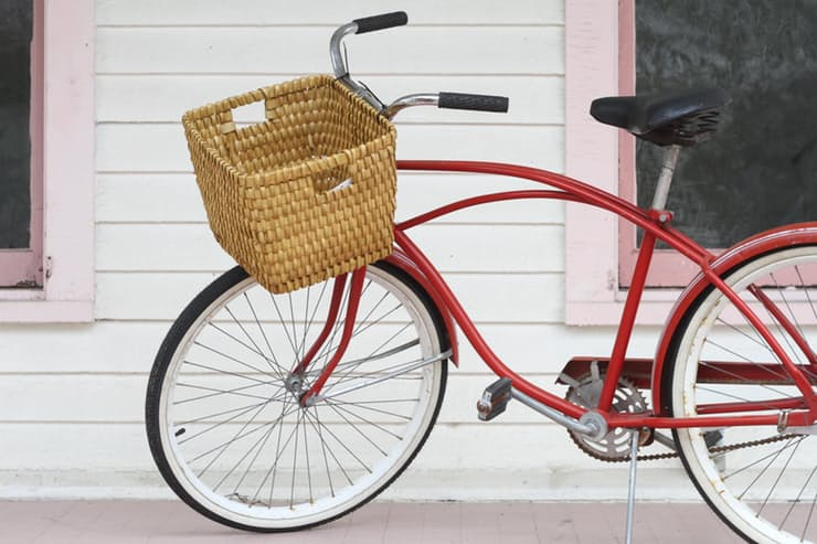 Оригинальная корзина для велосипеда