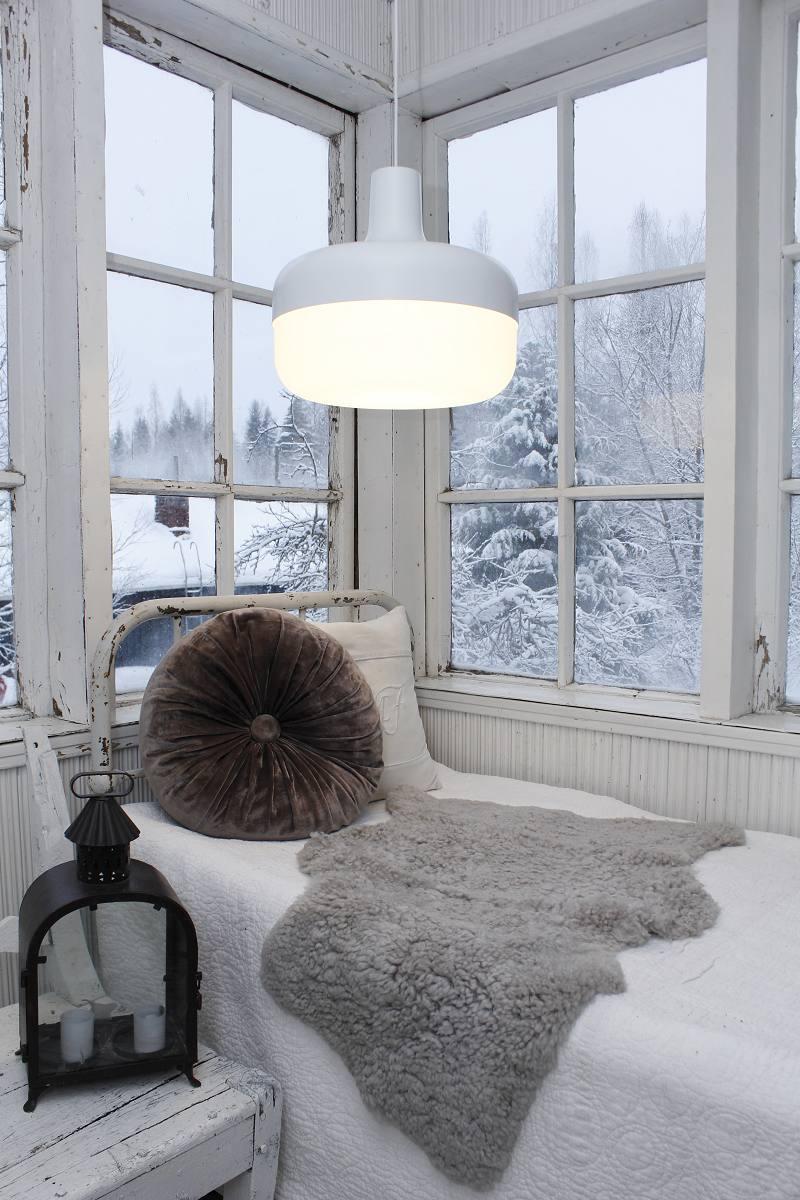 Original lighting in the interior with Korona light lamps