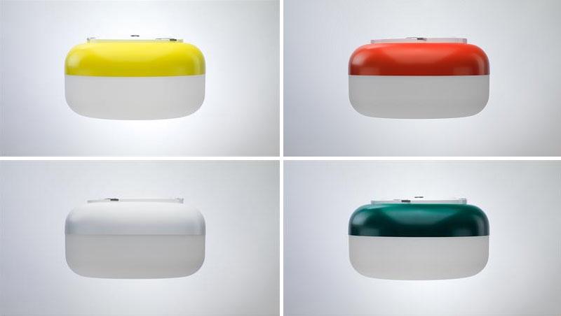 Оригинальное освещение в интерьере: варианты расцветки ламп