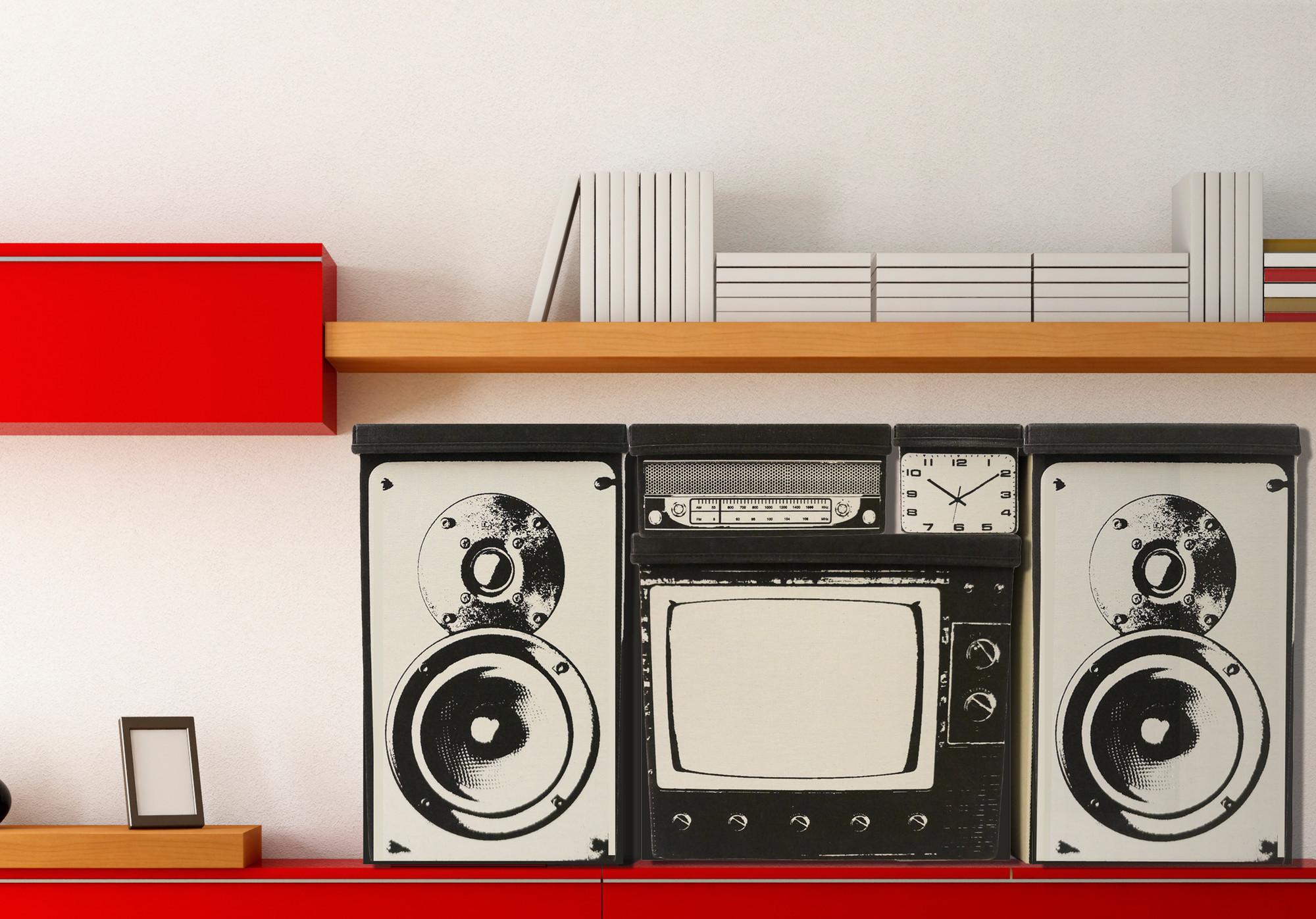 Оригинальные ящики в стиле 60-х у вас дома