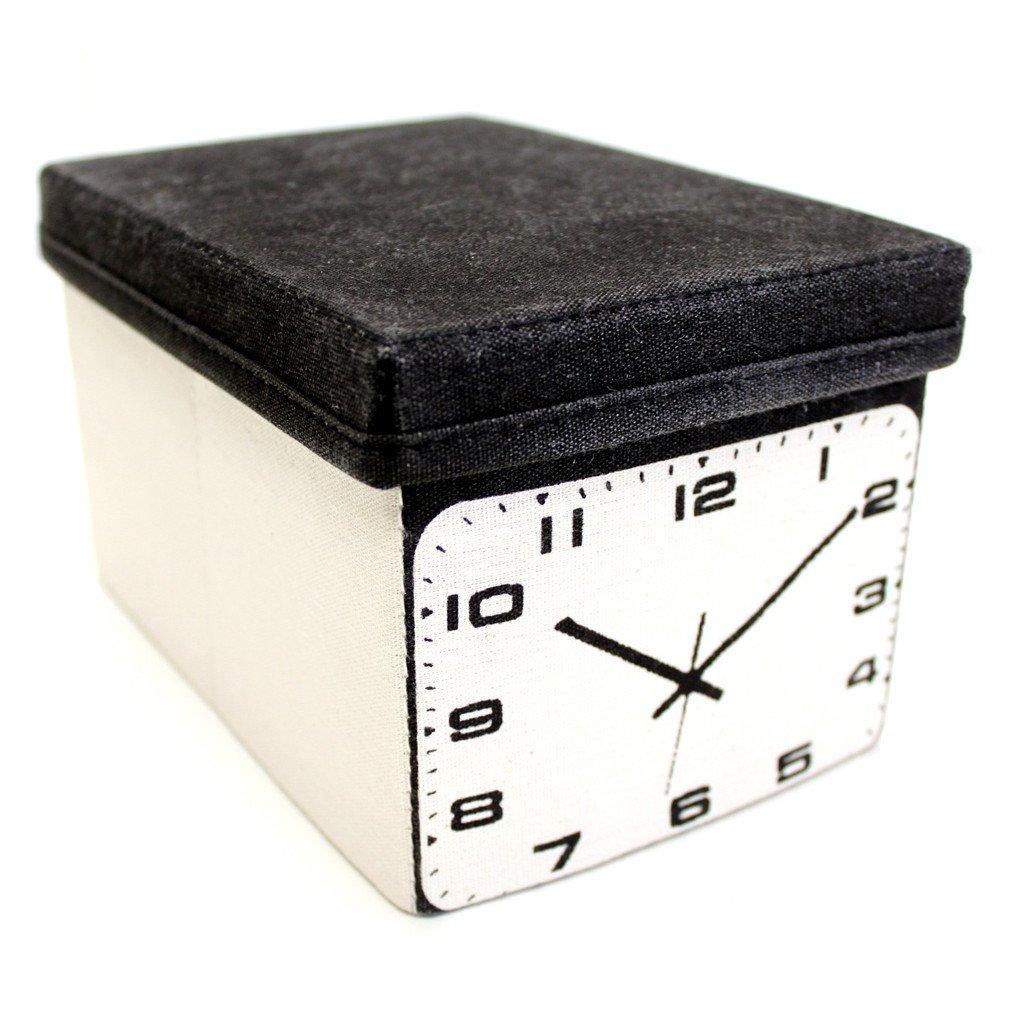Оригинальные ящики в стиле 60-х: нарисованные часы