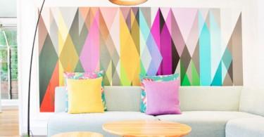 Декор стен заставит ваш дом играть новыми красками