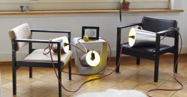Оригинальный дизайн ламп в интерьере