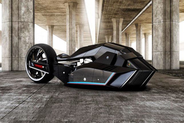 Concept motorcycle from the Istanbul designer
