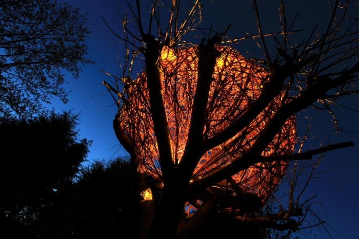 Уличная композиция Mushroom Fairy ring от Tom Hare