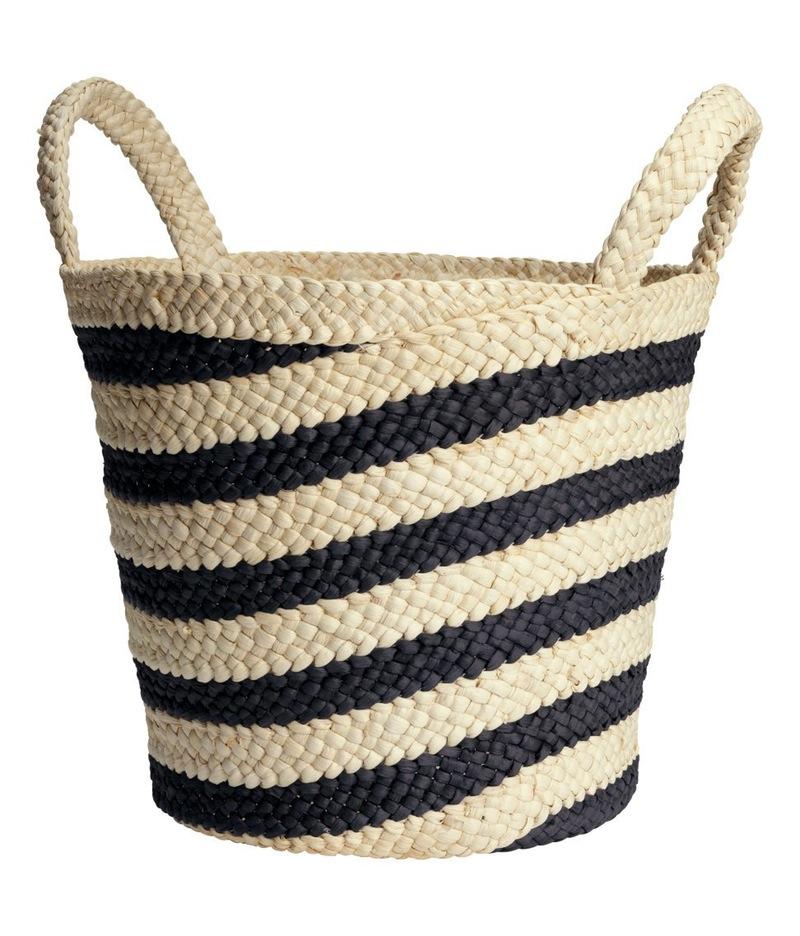 Плетёная корзина для дома - Фото 2