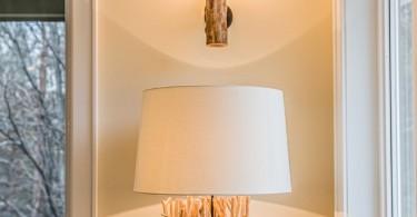 Оригинальный светильник в природном стиле