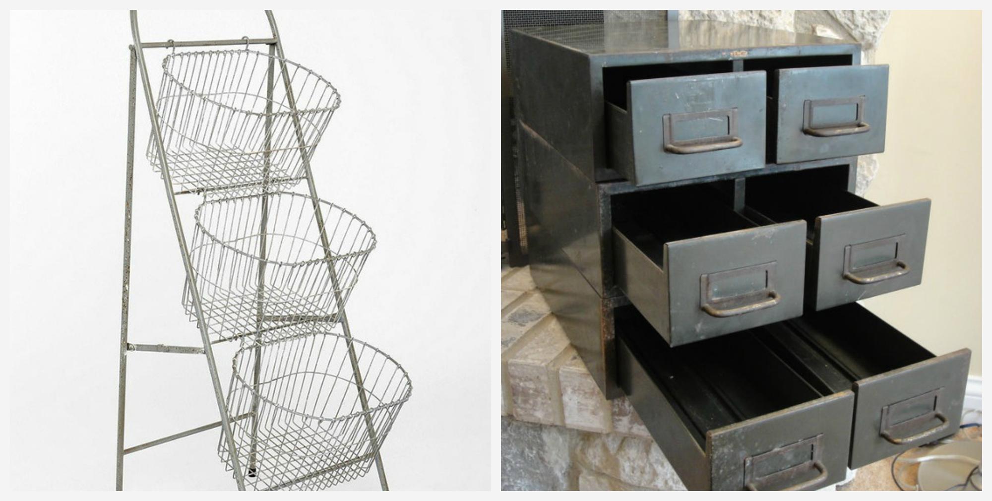 Разнообразные и оригинальные ящики для хранения