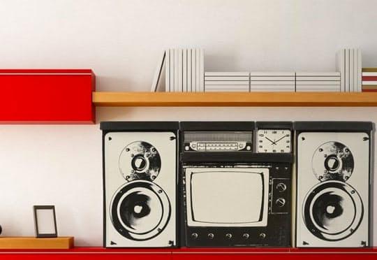Оригинальные ящики в стиле 60-х