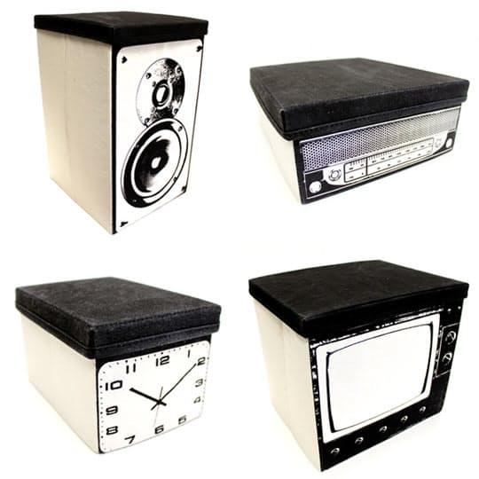 Оригинальные ящики в виде стерео системы - Фото 1