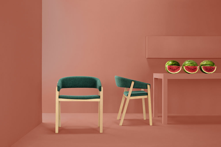 Unique Oslo chair and new items from Masquespacio - Missana